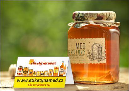Vyfoť svůj med s etiketou